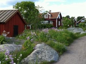 Husarö by. Fotografi Eva Olsson
